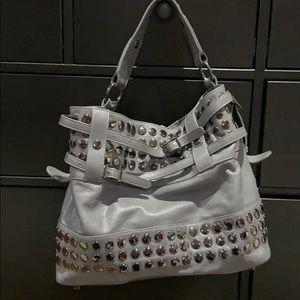 Rebecca Minkoff Studded Grey Bag !
